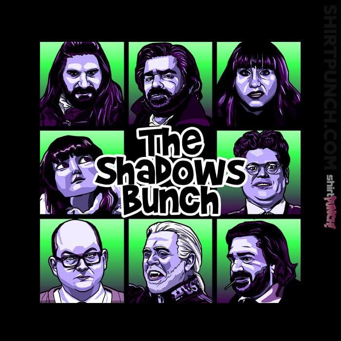 ShirtPunch: The Shadows Bunch