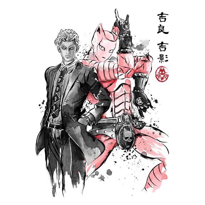 Once Upon a Tee: Killer Queen Sumi-e