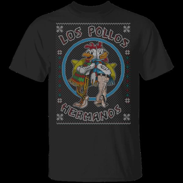 Pop-Up Tee: Los Pollos Hermanos Ugly Sweater