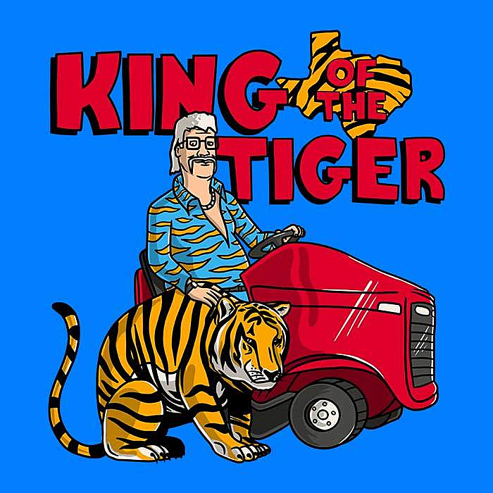 Once Upon a Tee: King of the Tiger