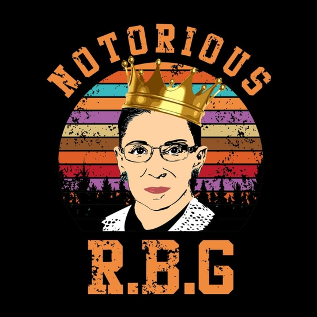 BustedTees: Notorious RBG Shirt