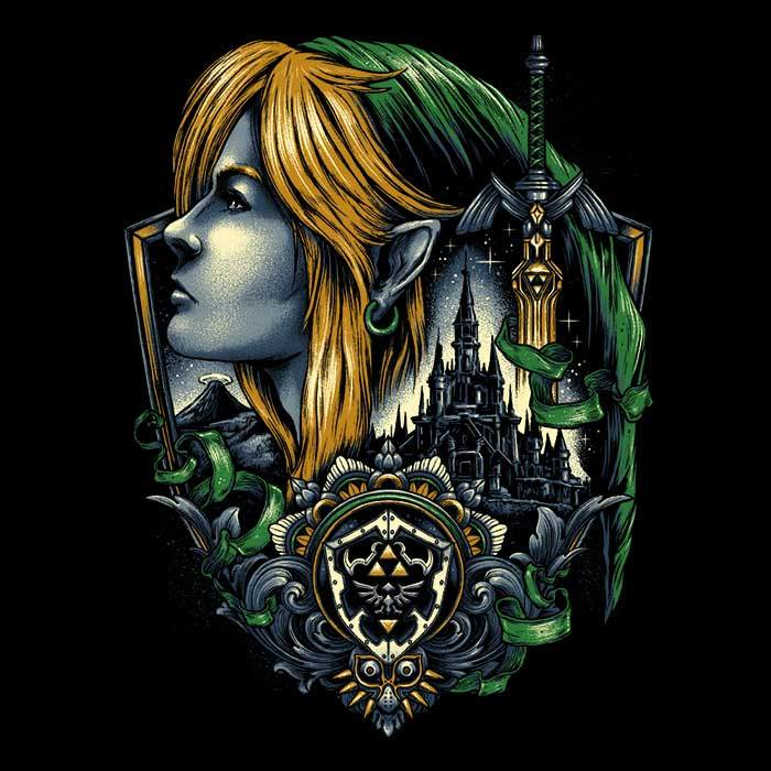 Once Upon a Tee: Emblem of the Legend