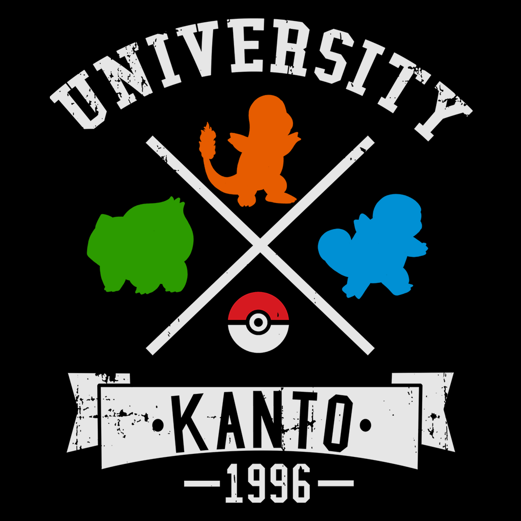 Pop-Up Tee: Kanto University