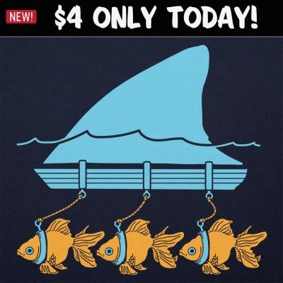 6 Dollar Shirts: Swim Like A Shark