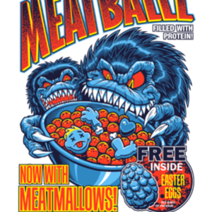 teeVillain: Meatballz