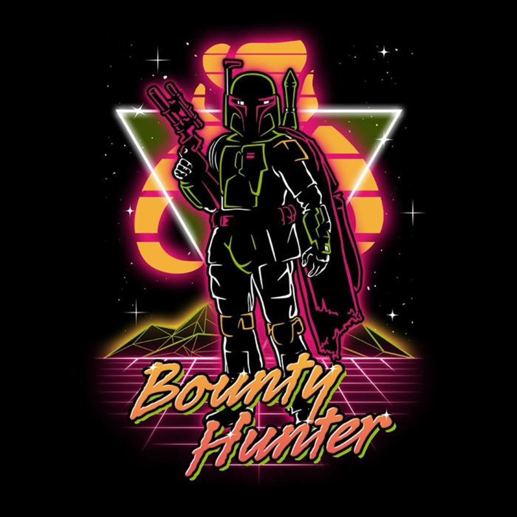 Once Upon a Tee: Retro Bounty Hunter