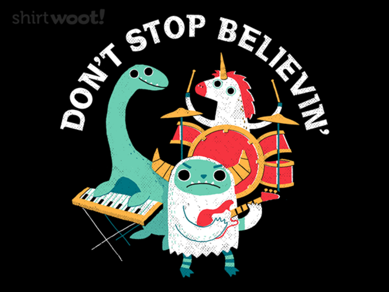Woot!: Don't Stop Believin' (In Us)