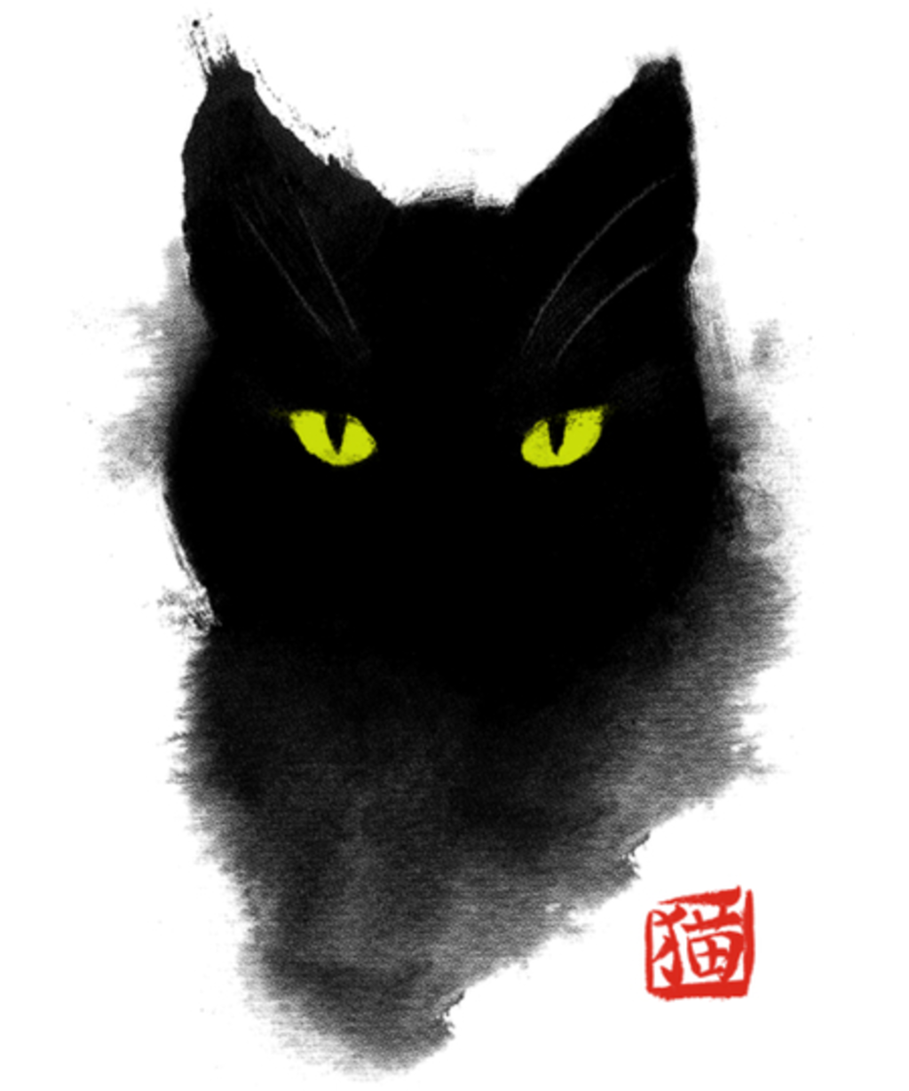 Qwertee: Cat ink