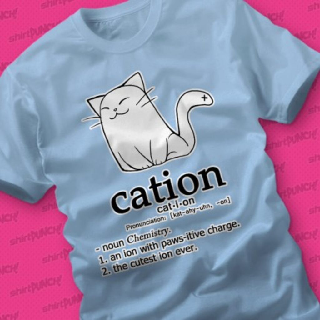 ShirtPunch: Cation