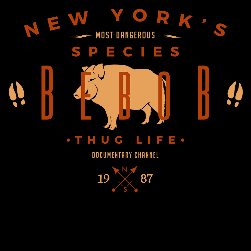 Pop-Up Tee: NY Species- Bebob