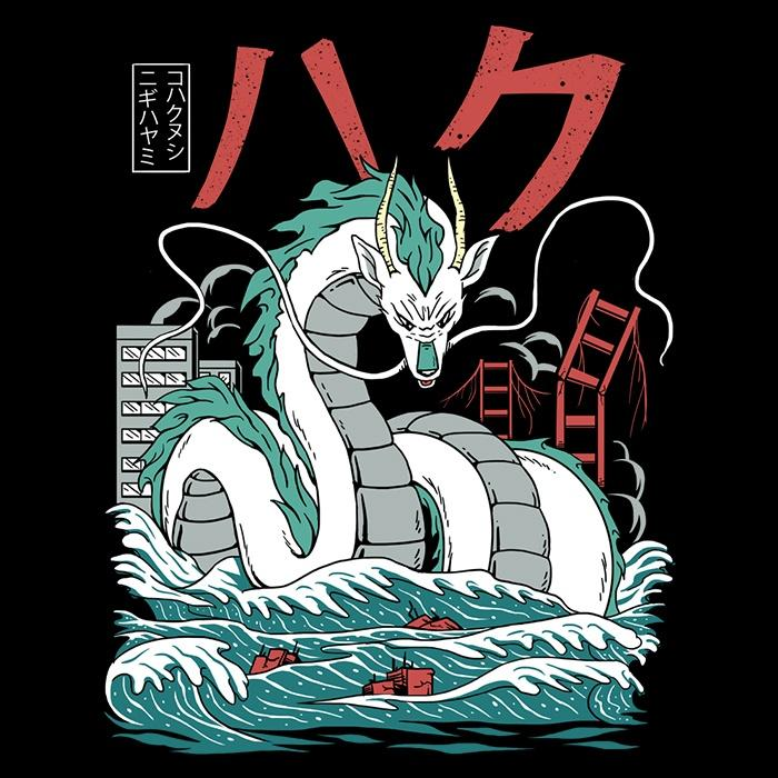Once Upon a Tee: Dragon Attack