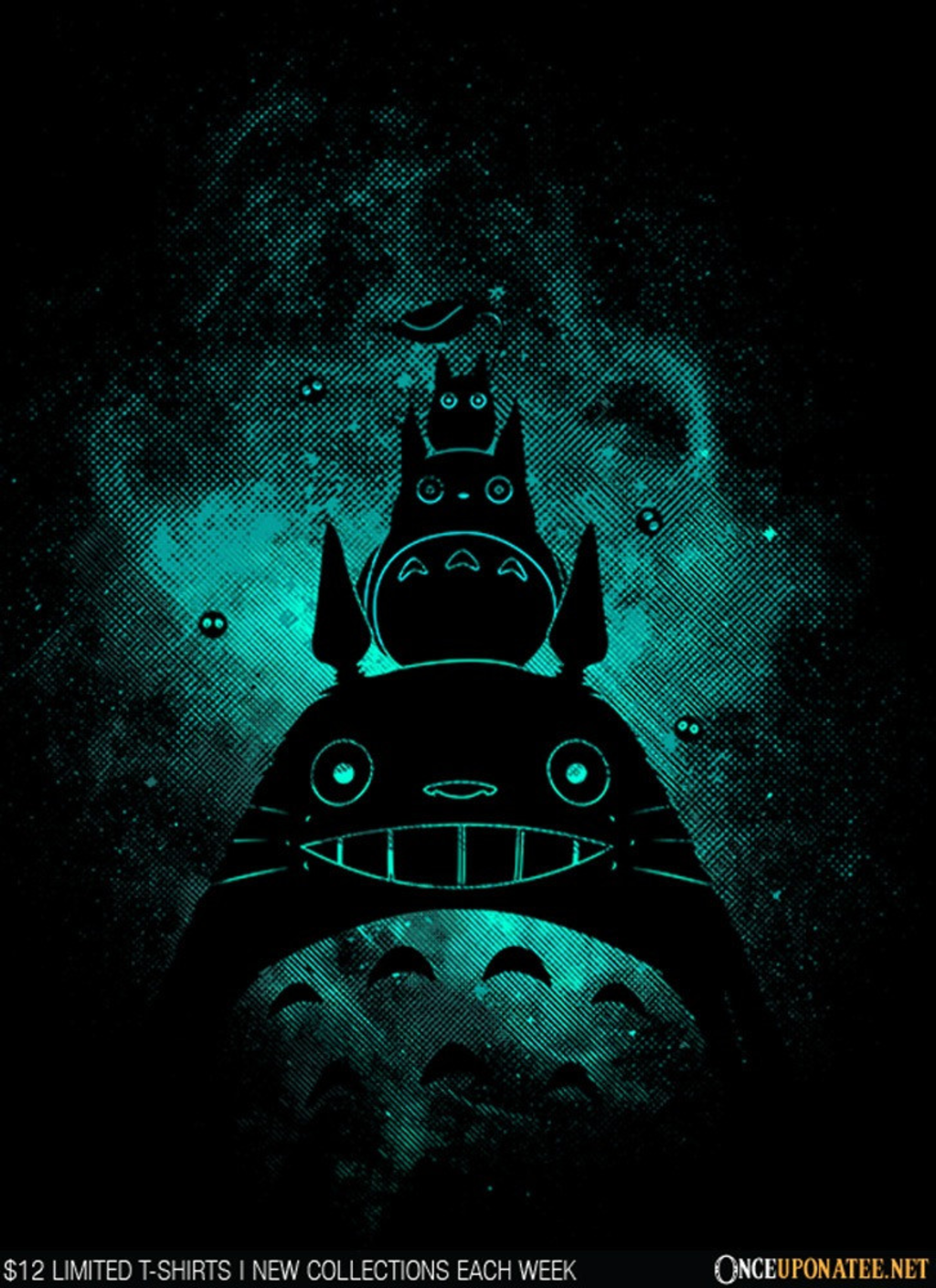 Once Upon a Tee: Totoro Art