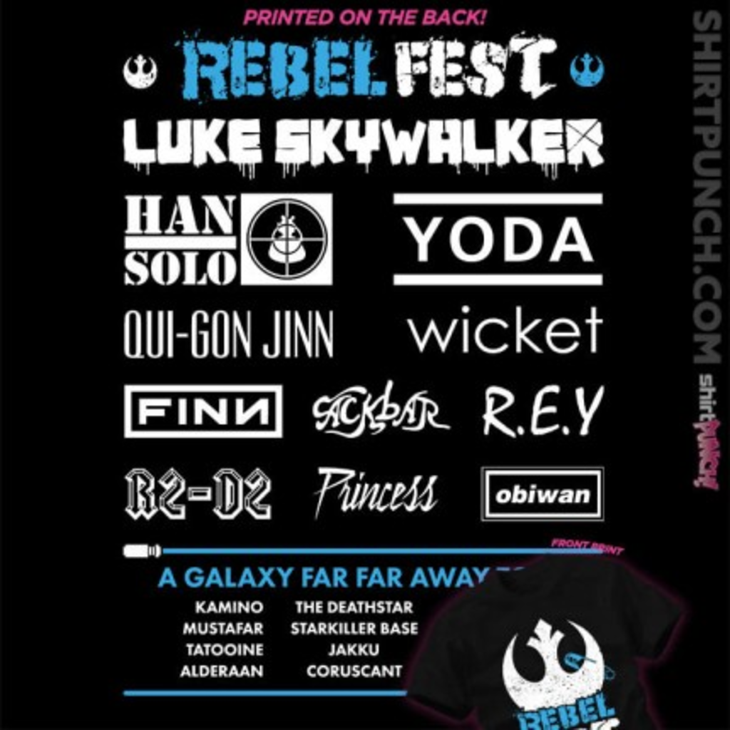 ShirtPunch: Rebel Fest