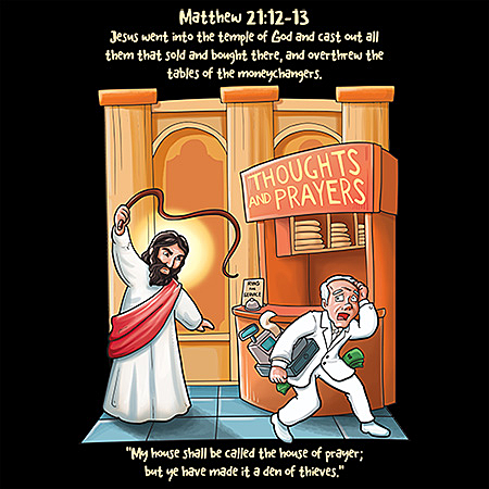 MeWicked: Jesus Went into the Temple and Drove out the Moneychangers