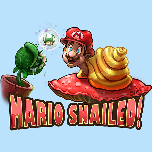 NeatoShop: Mario Snailed