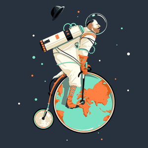 Pampling: Explore the Space Vintagely