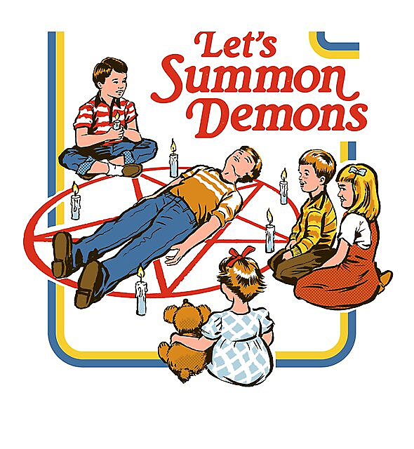 RedBubble: Let's Summon Demons
