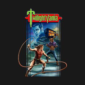 TeePublic: Twilightvania