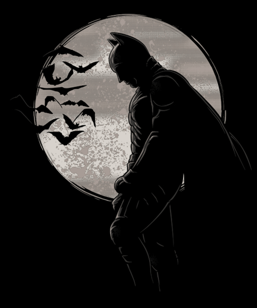 Qwertee: Dark night