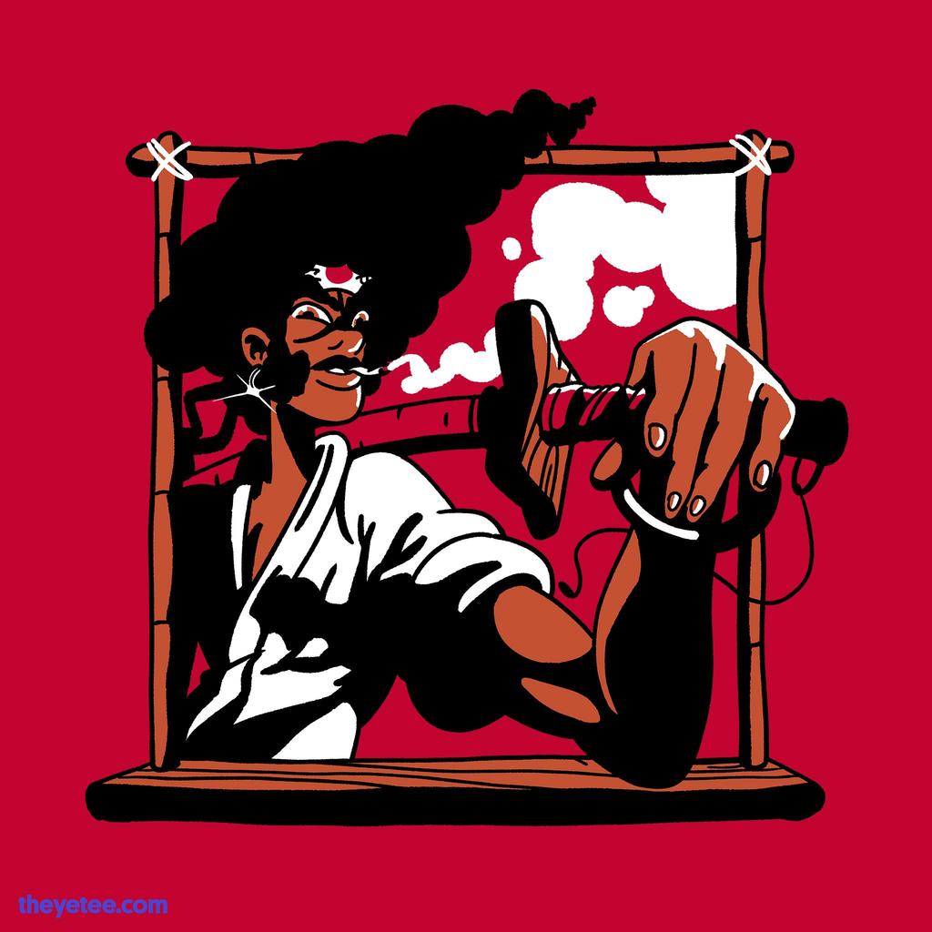 The Yetee: Afro Swordsman