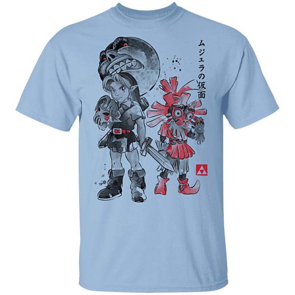 Pop-Up Tee: Majora's Sumi-e