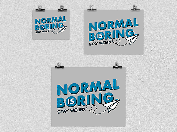 Woot!: Normal is Boring Poster