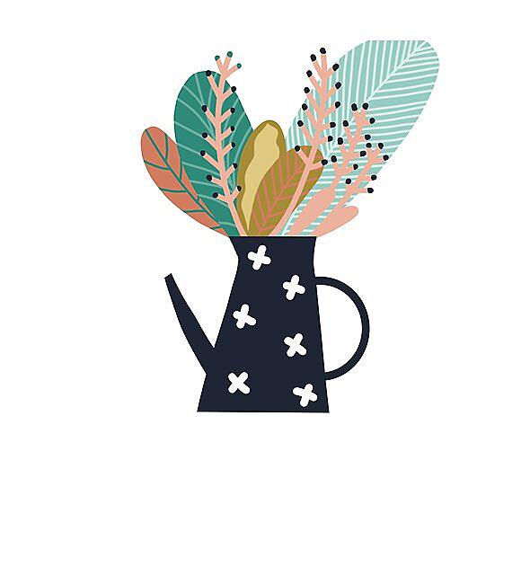RedBubble: Botanical coffee pot