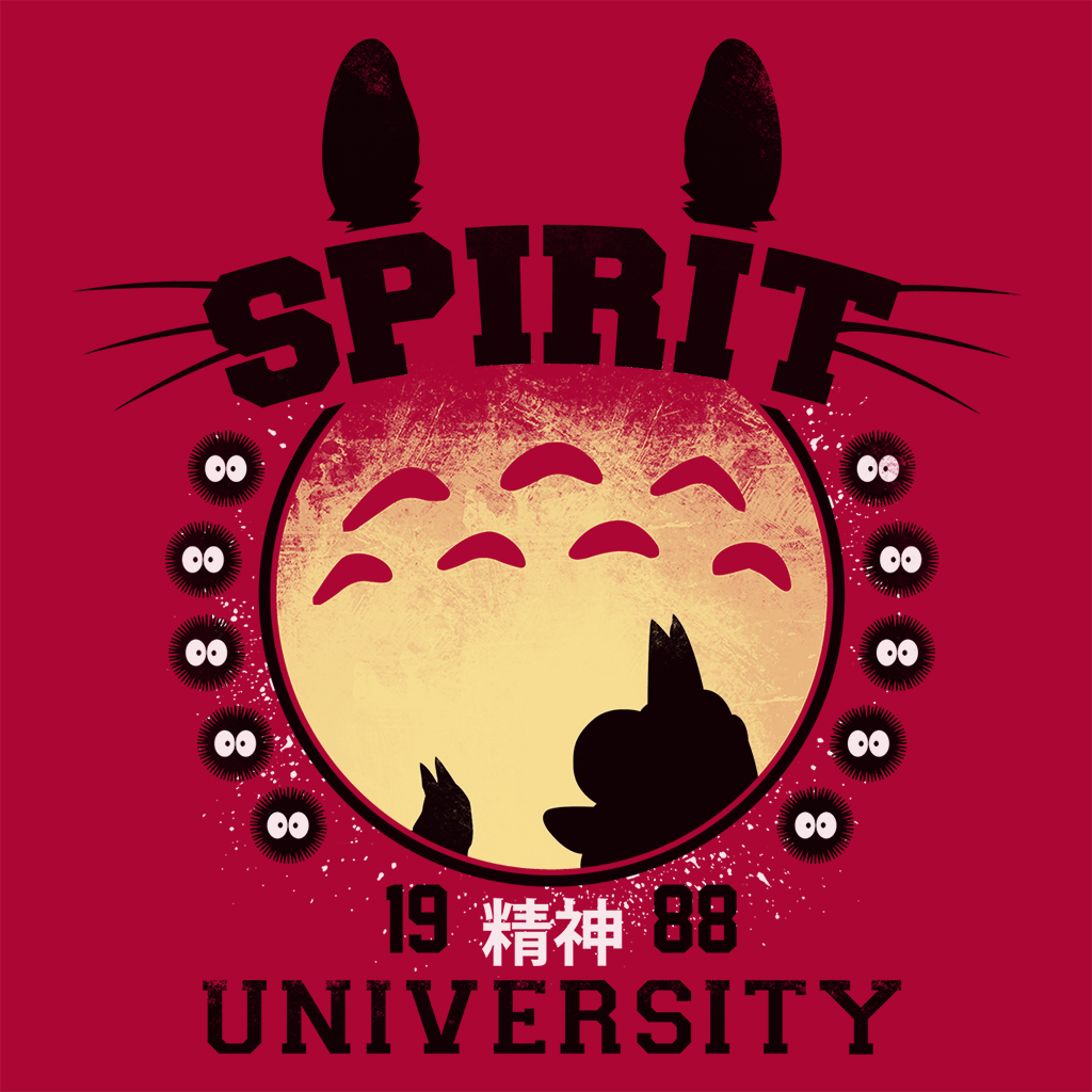 Pop-Up Tee: Spirit University