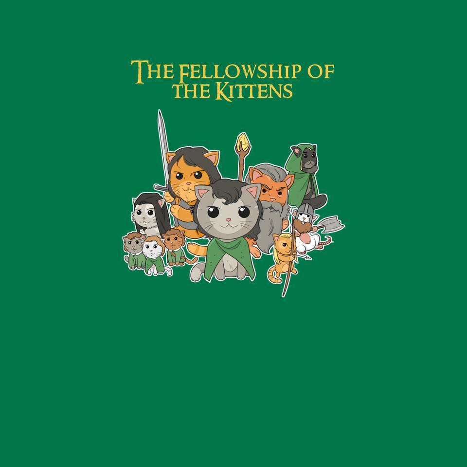 TeeFury: Fellowship Of The Kittens