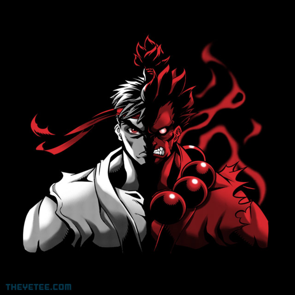 The Yetee: Two Face Fighter