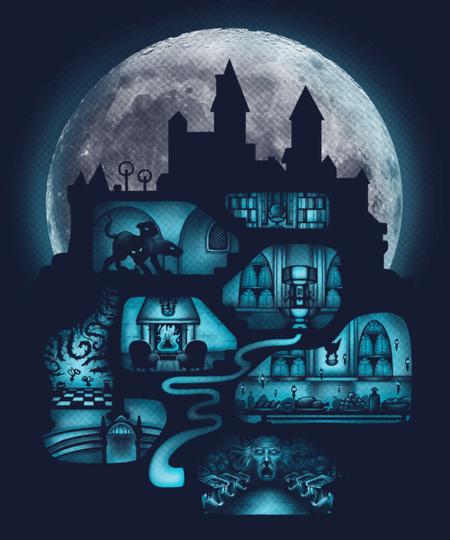 Qwertee: Magical Castle