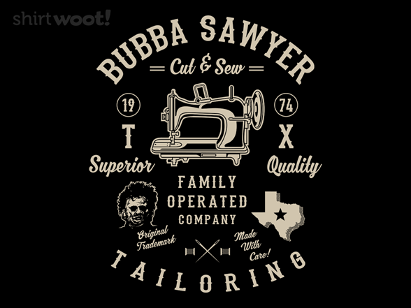 Woot!: Bubba's Tailoring