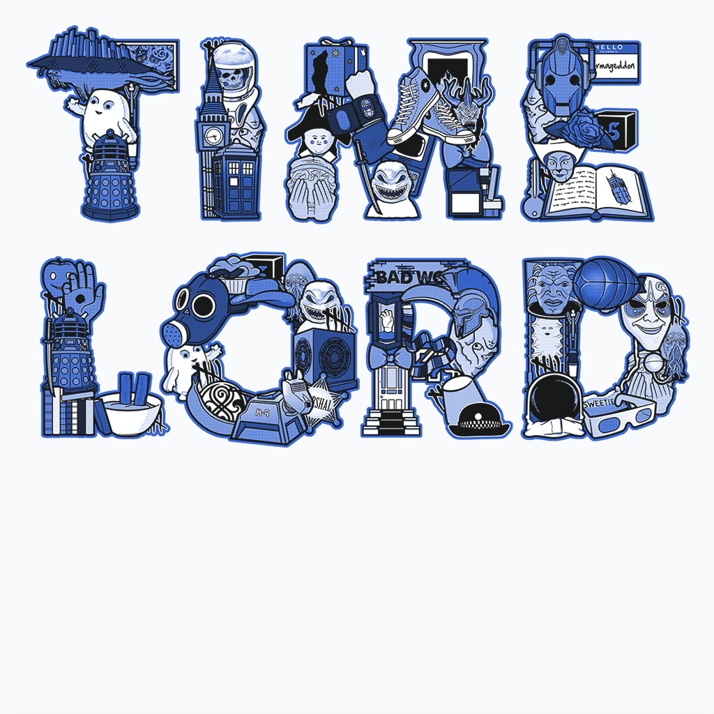 Pop-Up Tee: Time Lord