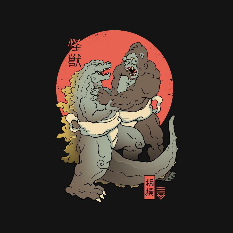 TeeFury: Sumo Kaijus