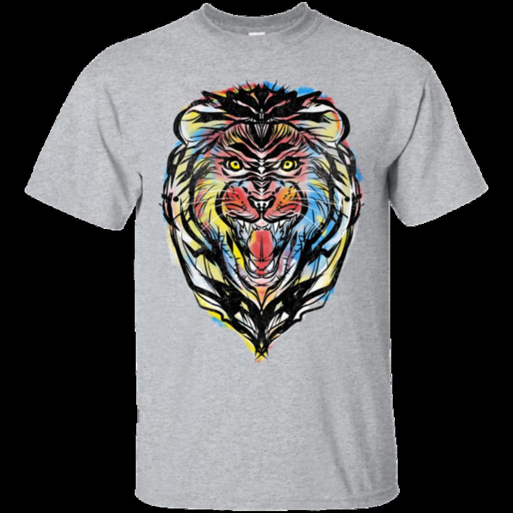 Pop-Up Tee: Stencil Lion