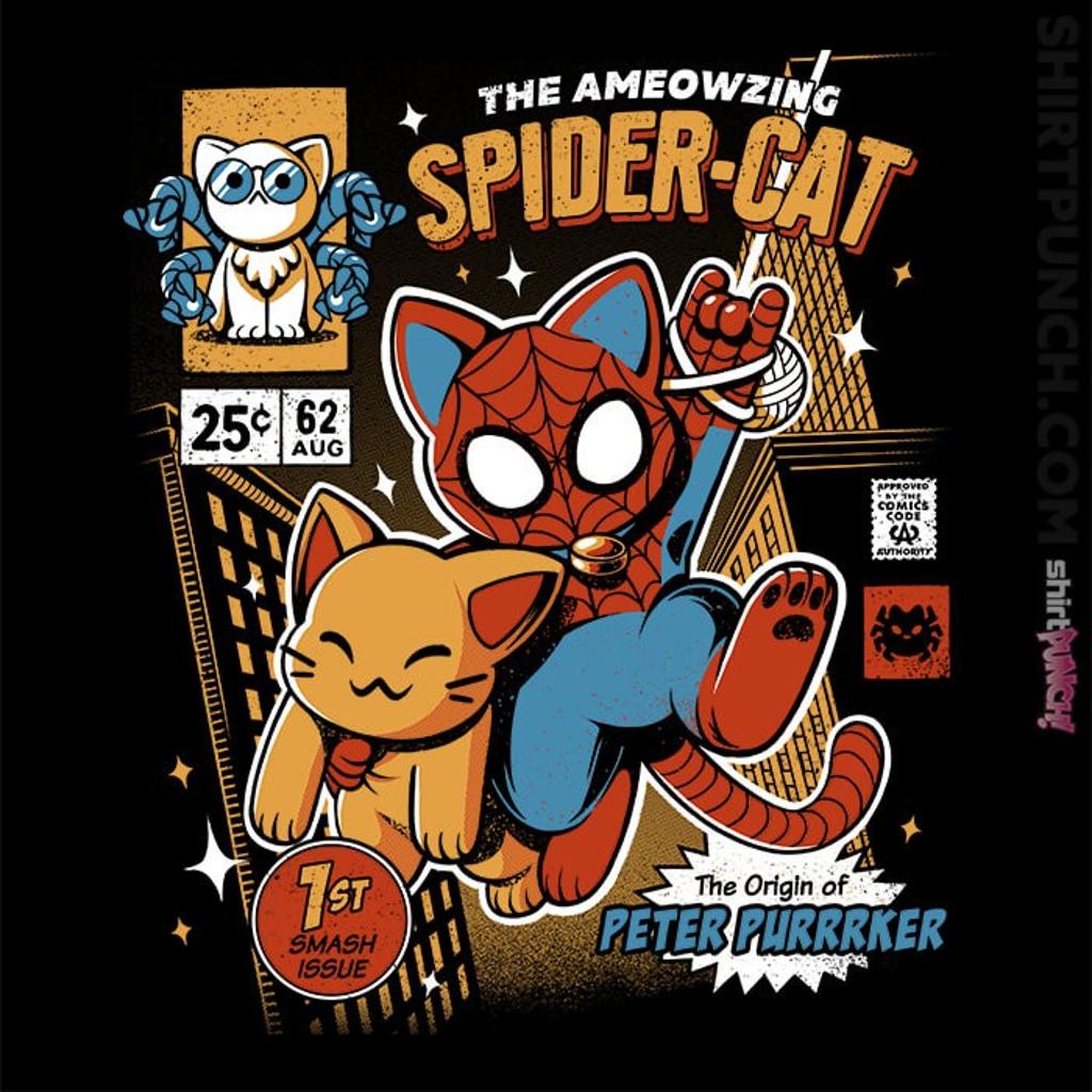 ShirtPunch: Spider-Cat