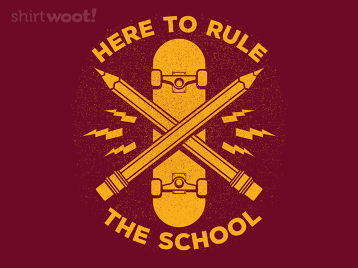 Woot!: Rule the School - $15.00 + Free shipping