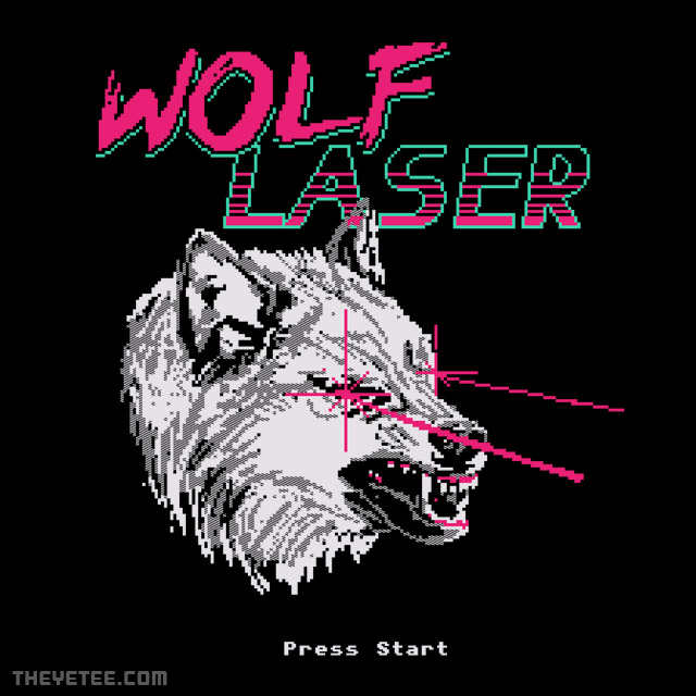 The Yetee: Wolf Laser