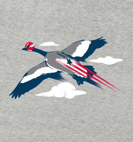 BustedTees: Goose