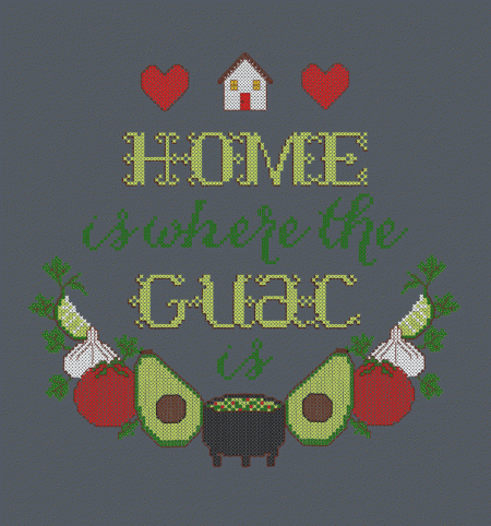 BustedTees: Home is Where the Guac Is