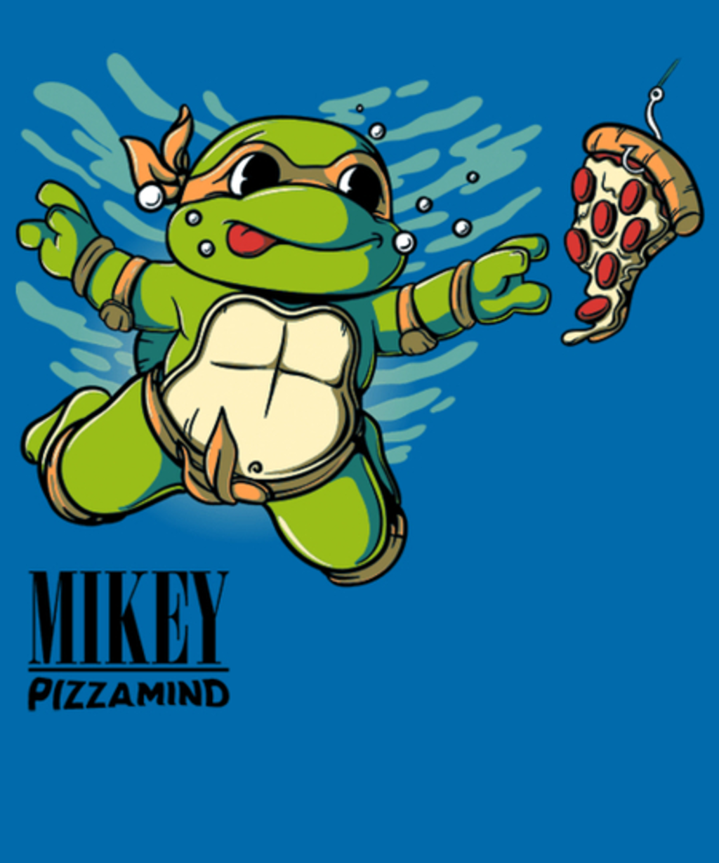 Qwertee: MIKEY - Pizzamind