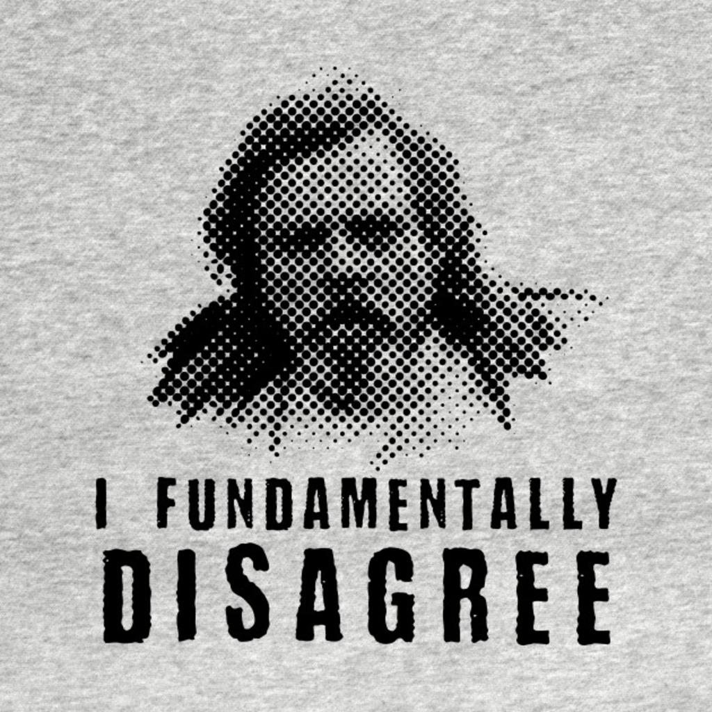 TeePublic: Mark Hamill: I Fundamentally Disagree...