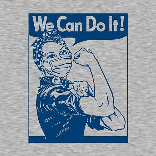 Five Finger Tees: We Can Do It T-Shirt