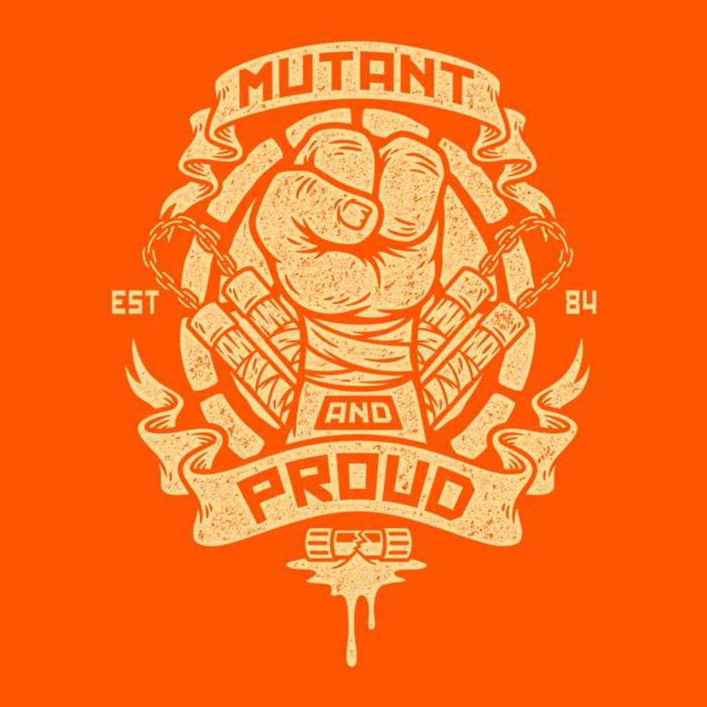Once Upon a Tee: Mutant and Proud: Mikey