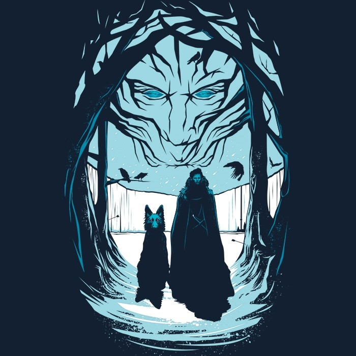 We Heart Geeks: Beyond the Wall - Men's T-Shirt
