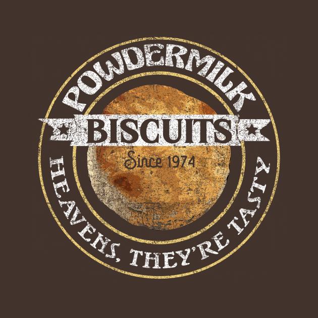TeePublic: Powdermilk Biscuits from A Prairie Home Companion
