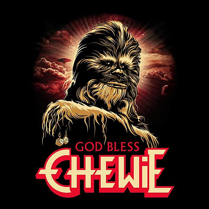 Once Upon a Tee: God Bless Chewie
