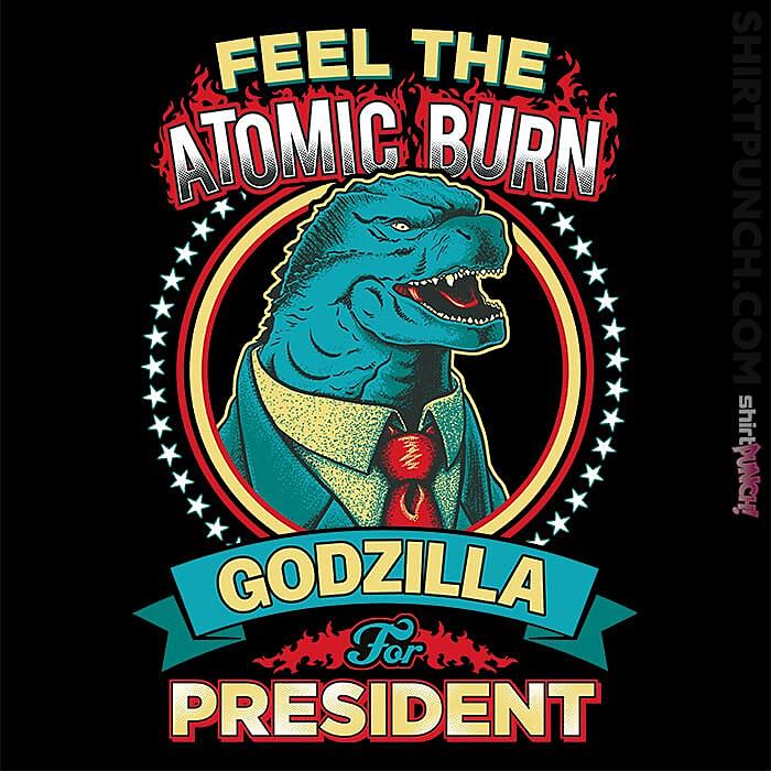 ShirtPunch: Feel The Atomic Burn