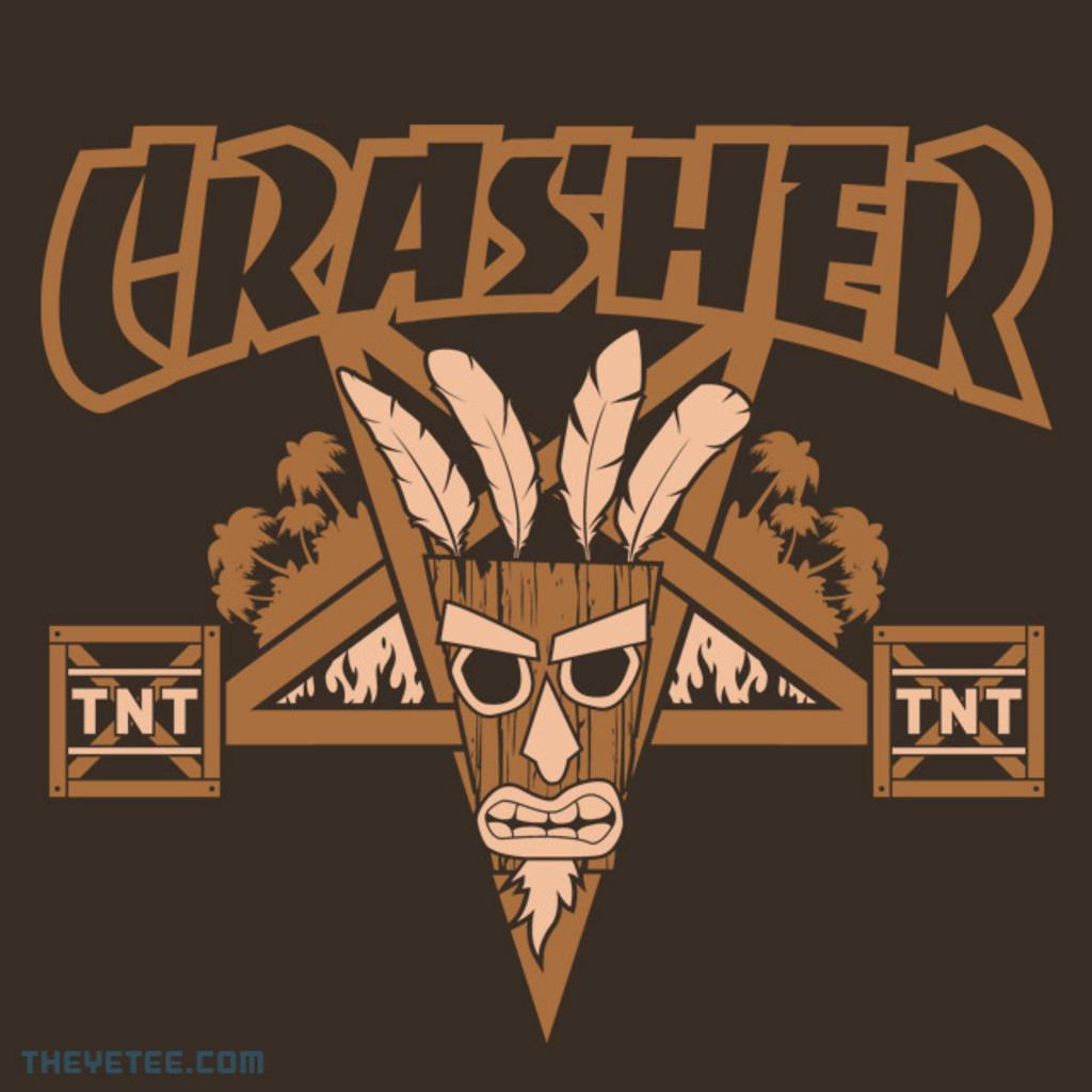 The Yetee: CRASHER