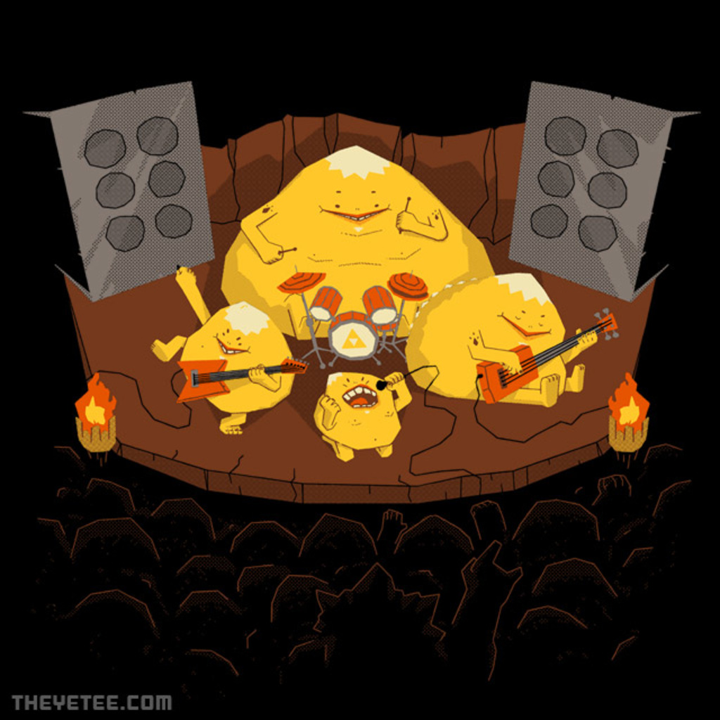 The Yetee: Rock Band